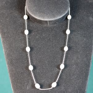 Vintage White 7mm Pearl Necklace